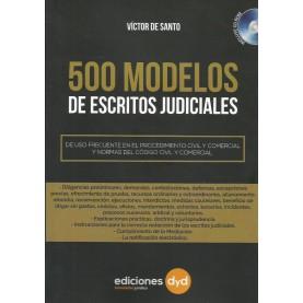 500 Modelos de Escritos Judiciales
