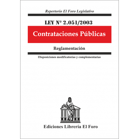 Ley Nº 2.051/2003 Contrataciones Públicas