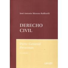 Derecho Civil; Parte General Personas