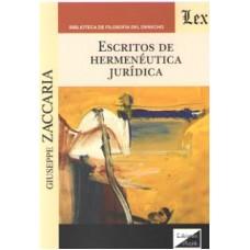 Escritos de Hermenéutica Jurídica