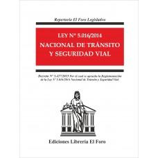 Ley Nº 5.016/2014 Nacional de Tránsito y Seguridad Vial