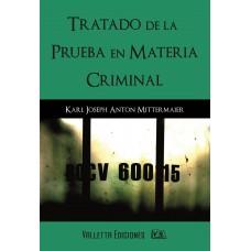 Tratado de la Prueba en Materia Criminal.