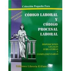 Código Laboral Paraguayo y Código Procesal Laboral (pequeño)
