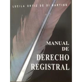 Manual de Derecho Registral