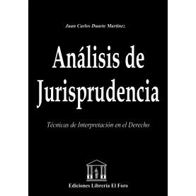 Análisis de Jurisprudencia