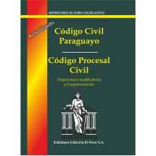 Código Civil Paraguayo y Código Procesal Civil