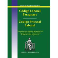 Código Laboral Paraguayo y Código Procesal Laboral