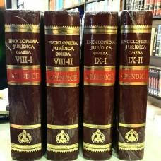 Apéndices VIII y IX de la Enciclopedia Jurídica Omeba